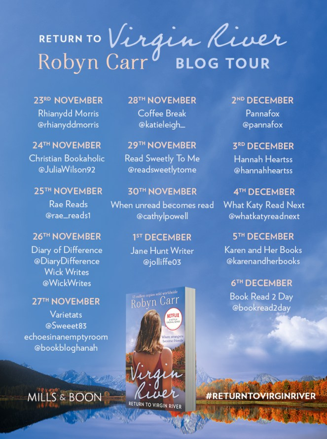 Return To Virgin River by Robyn Carr [BLOG TOUR]