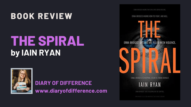The Spiral by Iain Ryan [BOOK REVIEW] This book really took me on a rollercoaster and I still feel the adrenaline after the ride.