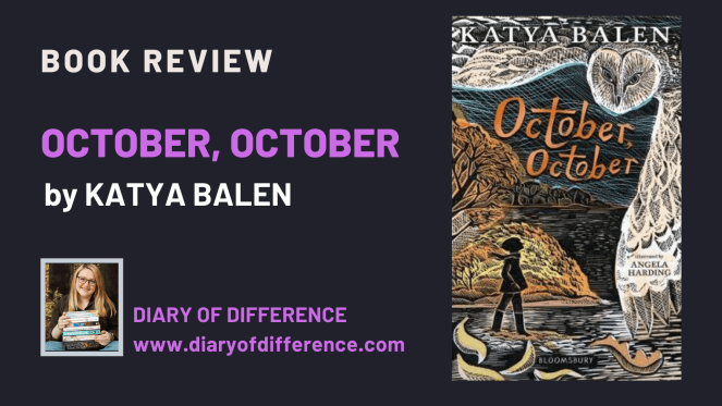 October, October by Katya Balen [BOOK REVIEW]