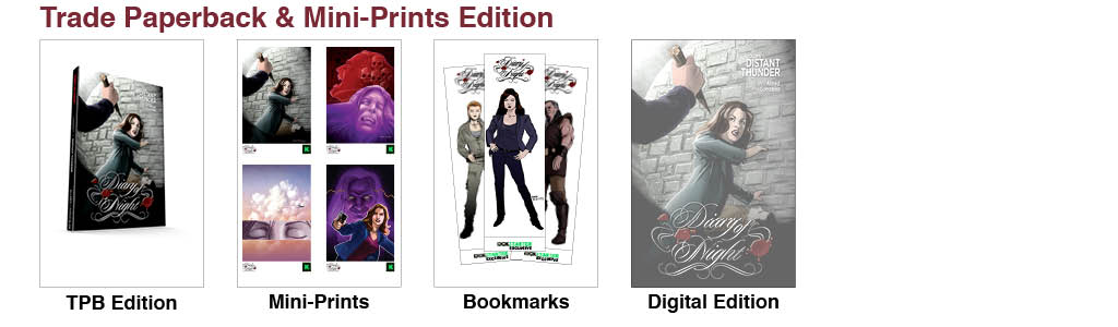 Trade Paperback & Miniprints Reward