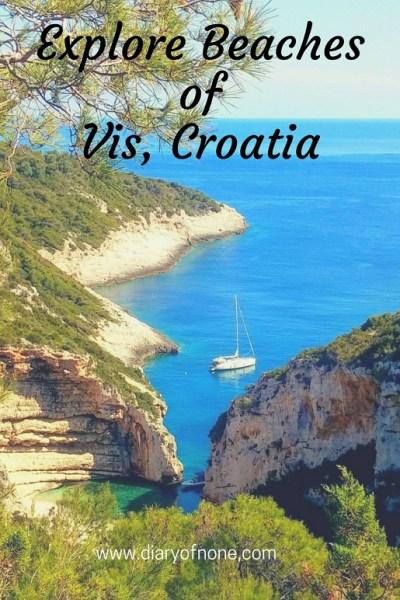 Beaches Vis Croatia