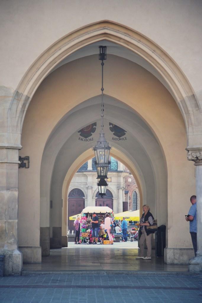 Cloth hall Krakow Rynek Glowny