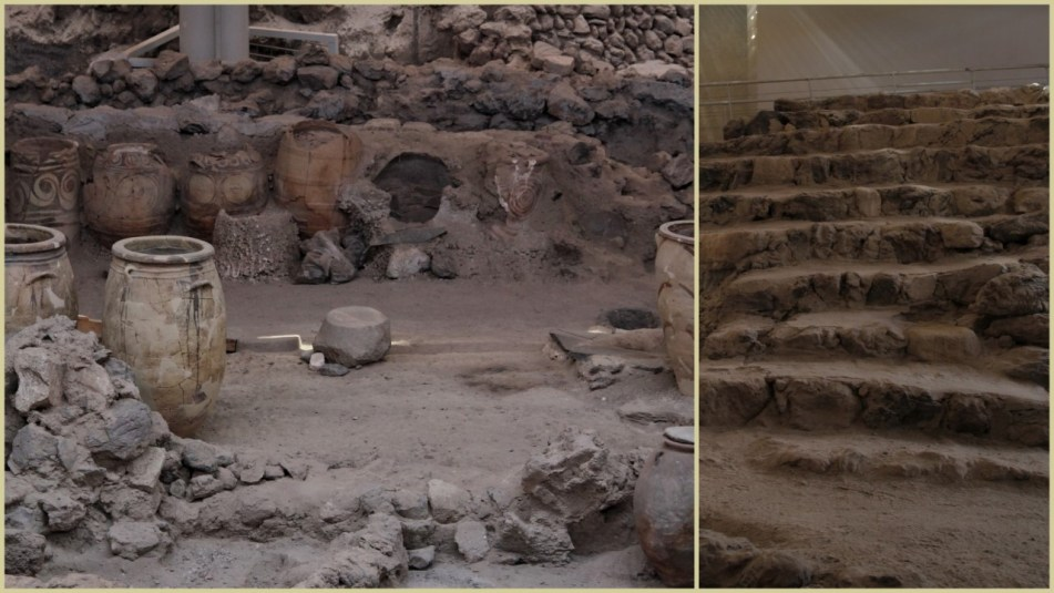 Akrotiri ruins, Santorini
