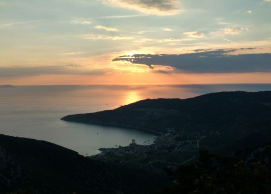 Trippin' on a sunset in Vis, Croatia