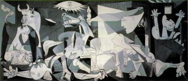 """Ka gjithmonë një tregim të jashtëzakonshëm për një ushtar gjerman që shkoi në studion e Picasso-s në Paris dhe gjeti një kartolinë të Guernica-s, kryeveprës dedikuar bombardimit të një qyteze baske nga avionët gjermanë. Ushtari e pyeti piktorin: """"Kush e ka bërë këtë, ti?"""" """"Jo,"""" – iu përgjigj Picasso. """"Atë vepër e keni bërë ju""""."""