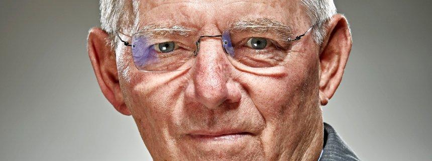 Wolfgang Schäuble, Bundesfinanzminister, Portrait