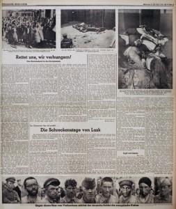 Gazeta naziste Völkischer Beobachter, ku përdoren foto të fotografit të AP Franz Roth