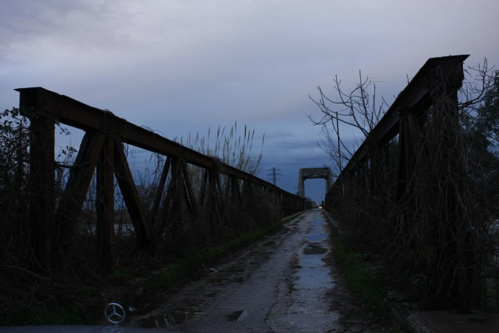 Ura e vjeter mbi Vjose, vjeshte 2015