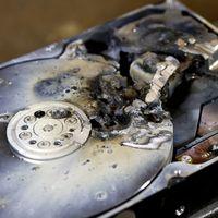Datenverlust - zerstörte Festplatte