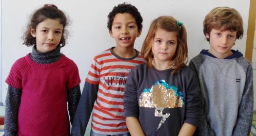 EQUIPO GUEPARDO: Elena, Iyán, Paola y Samuel.