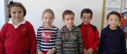 EQUIPO LOBO: Ana, Carlota, Leo, Óscar y Santiago.