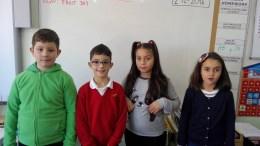 EQUIPO TOROS: Jorge, Mario, Nayara y Valeria.