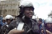 Guinée/Manifestions : Le directeur national de la police charge la Croix Rouge