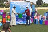 Guinée : la feguifoot offre des kits sanitaires aux ligues régionales