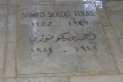 Profanation du Mausolée : Un protecteur des idéologies d'Ahmed Sekou Touré hausse le ton