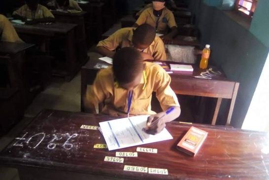 Matam: L'examen se passe en toute sécurité au centre de Bonfi Sahara
