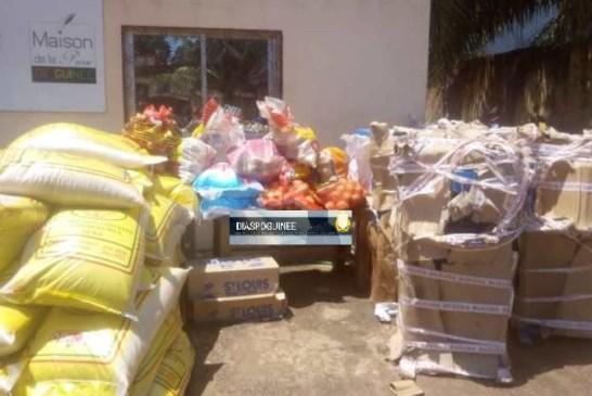 Lutte contre Covid-19 : Un important don de matériels offert par des Guinéens résidant en Allemagne