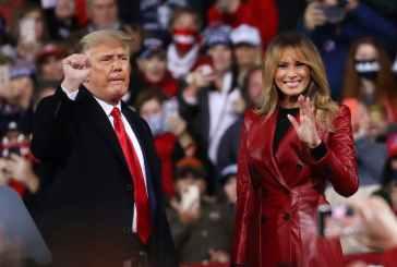 Melania Trump publie ses adieux à la Maison Blanche et