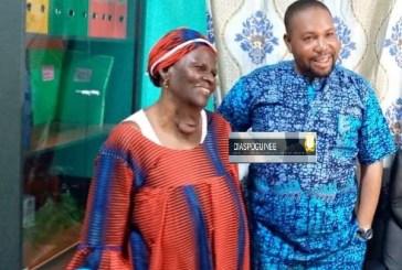 N'Zérékoré : L'ONG Espoir de vie décharge une veuve de son goitre
