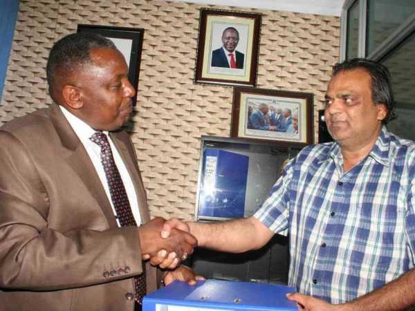 Francis Mwangi and Kamran Zafar / CHRISPINUS WEKESA