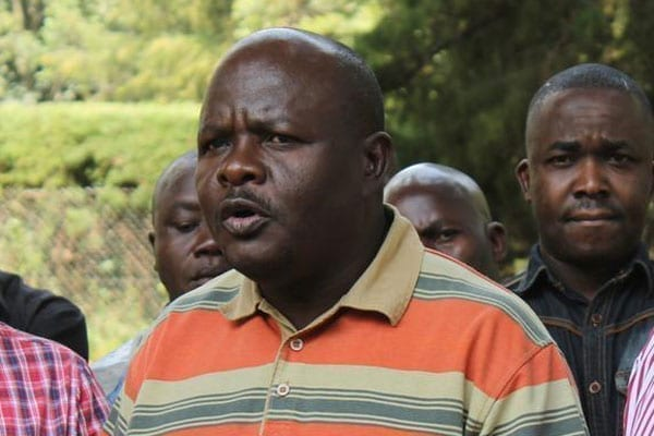 Mumias East MP Ben Washiali during a past event. FILE PHOTO   ISAAC WALE   NATION MEDIA GROUP