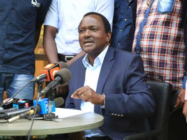 Wiper leader Kalonzo Musyoka during an interview at his private office in Watermark Business Park, Karen, January 20, 2017. /DENNIS KAVISU