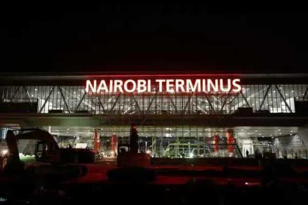 Image result for A tour of the new SGR Nairobi terminus