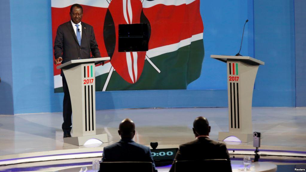 Image result for kenya presidential debate 2017