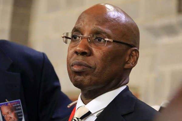Businessman Jimi Wanjigi.  requiem mass of Jacob Juma