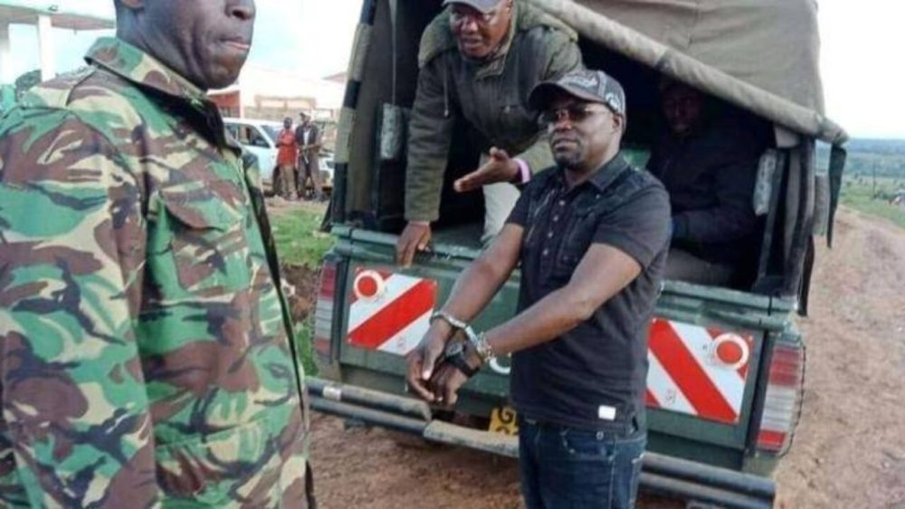 VIDEO: The dramatic arrest of Johanna Ngeno for insulting Mama Ngina