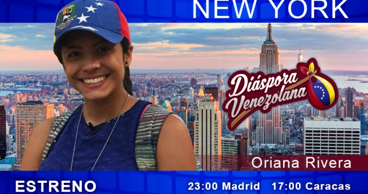 Venezolanos en New York (Oriana Rivera)