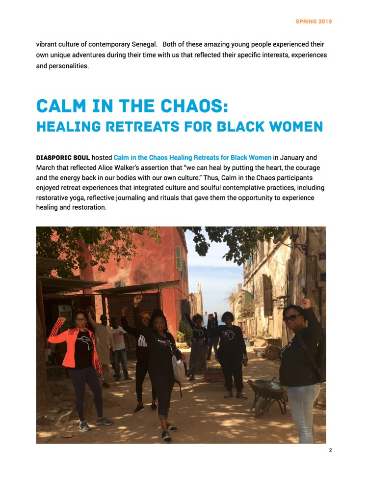 Newsletter Spring 2019 Page 2