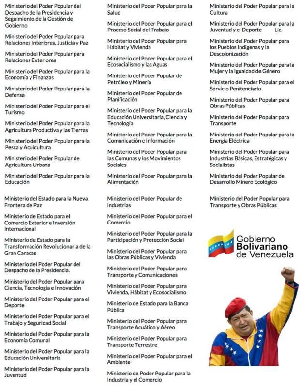 ministerios-venezuela