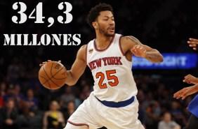 9. Derrick Rose (New York Knicks)