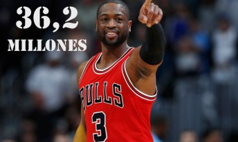 8. Dywane Wade (Chicago Bulls)