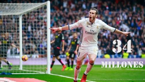 10. Gareth Bale (Real Madrid)