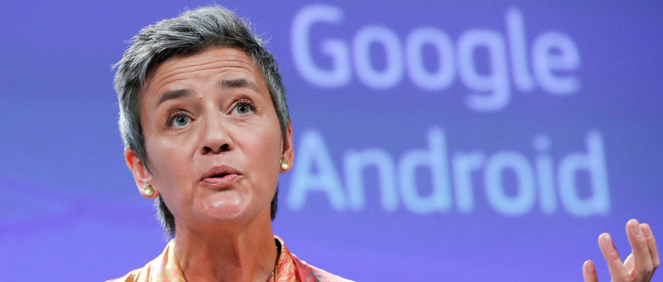 Vestager contra Google