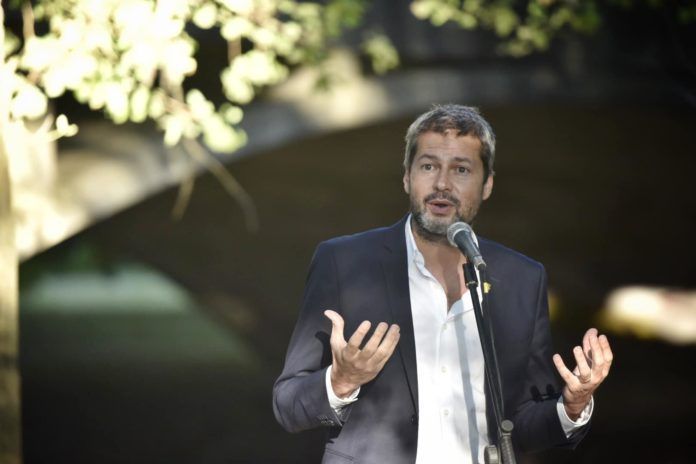 El ministro de Turismo y Deportes de la Nación, Matías Lammens, le bajó este martes el pulgar a la posibilidad de un regreso del público a los estadios