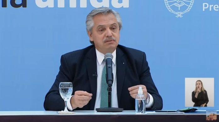 El presidente Alberto Fernández volvió a pedir disculpas este lunes por la foto en la Quinta de Olivos