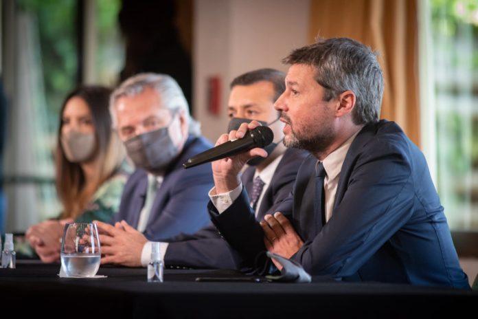 El ministro de Turismo y Deportes de la Nación, Matías Lammens