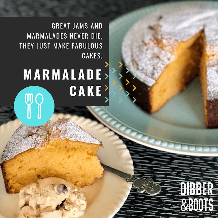 'no worries' marmalade cake