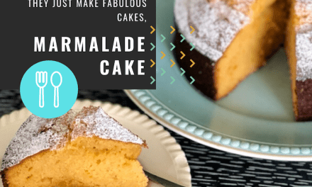 Marmalade 'no-worries' Cake