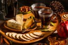 Mulled Wine and Cheese Platter from the Kitchenthusiast
