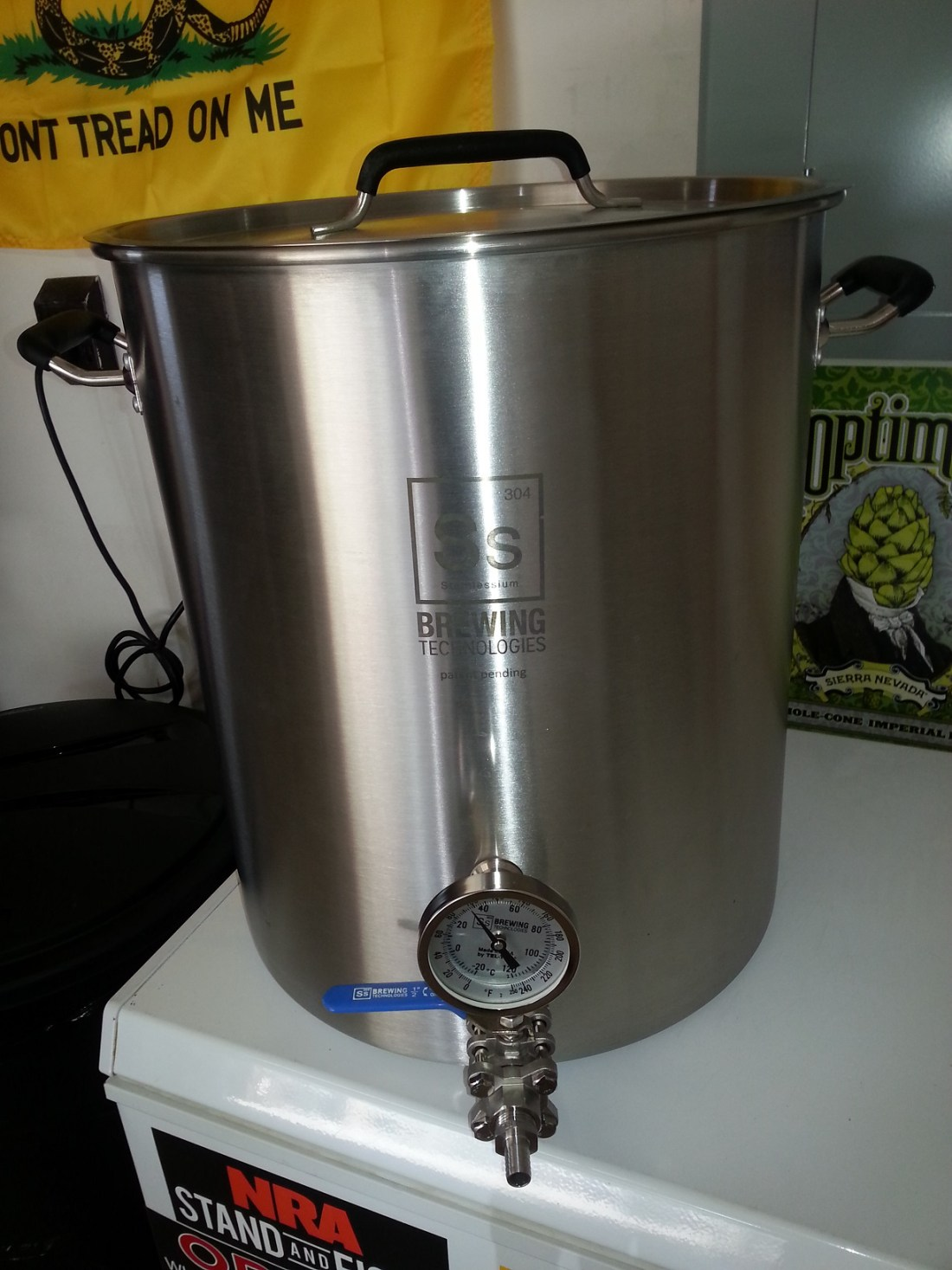SS Brewtech 15 Gallon Kettle