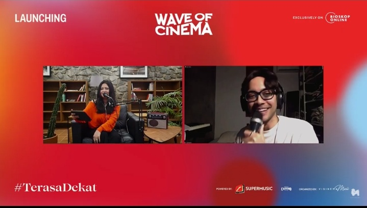 Konser Online Wave Of Cinema Dirilis Bioskop Online dan Visinema Music