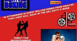 Celebrity Boxing-October 18th