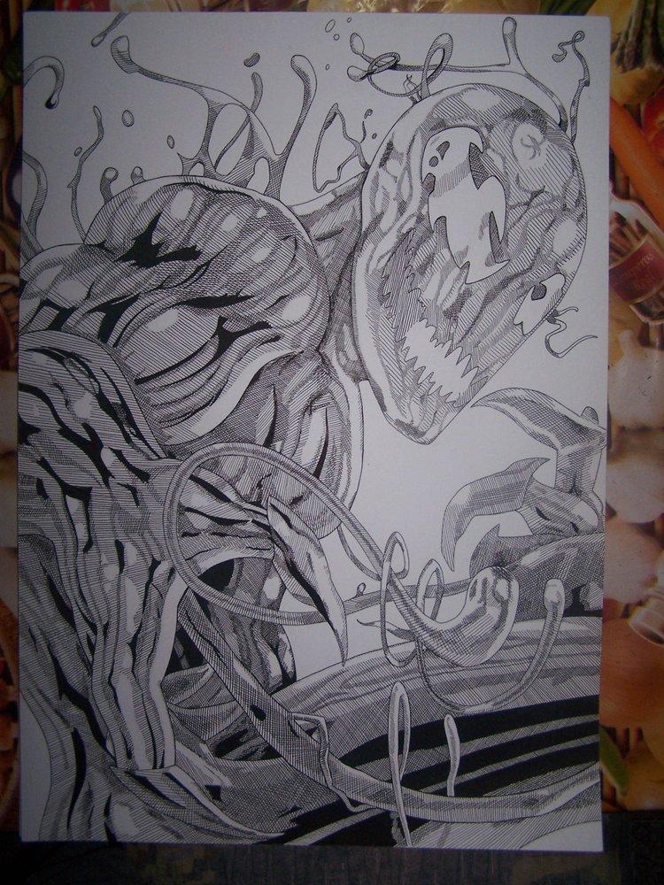 Carnage Por Walter Daniel Diaz Dibujando