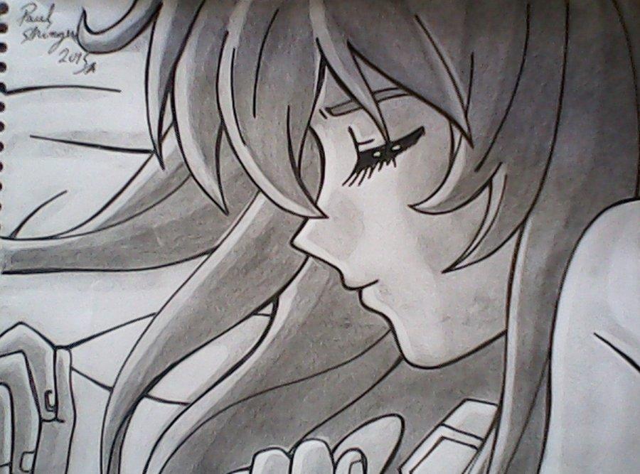 Lapiz Dibujos Tristeza De