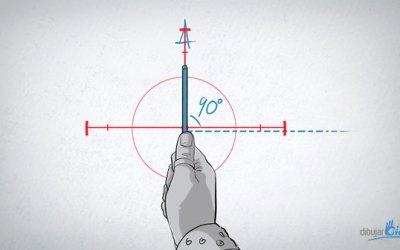 Cómo dibujar bien: Medir ángulos con tu lápiz – Dibujar Bien.com