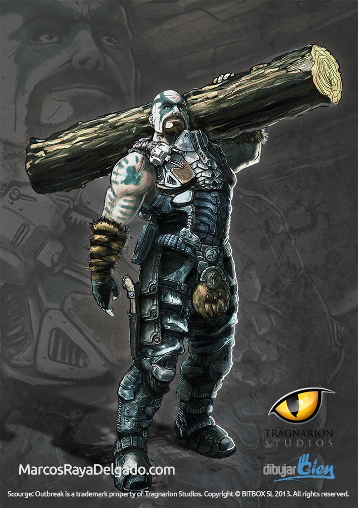 Mass, el Berserker de Scourge Outbreak